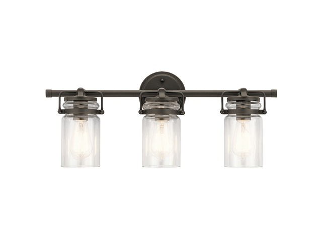 Brinley 3 Light Vanity Light Olde Bronze®