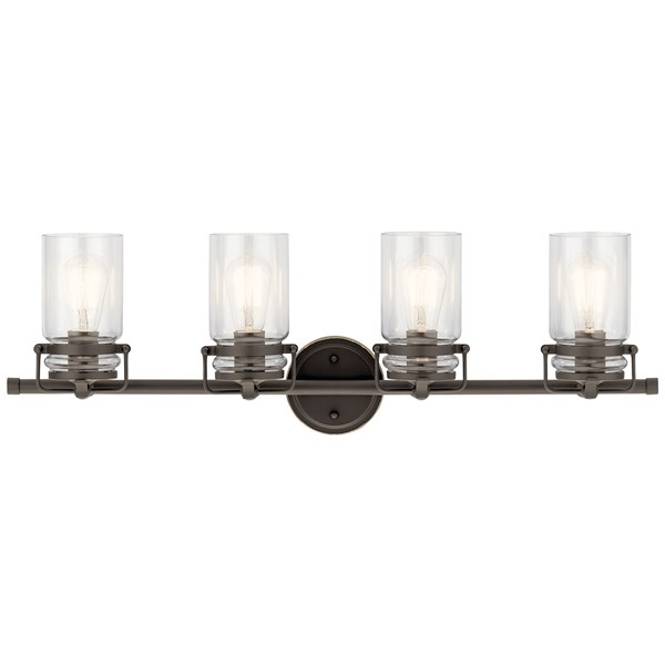 Brinley 4 Light Vanity Light Olde Bronze®