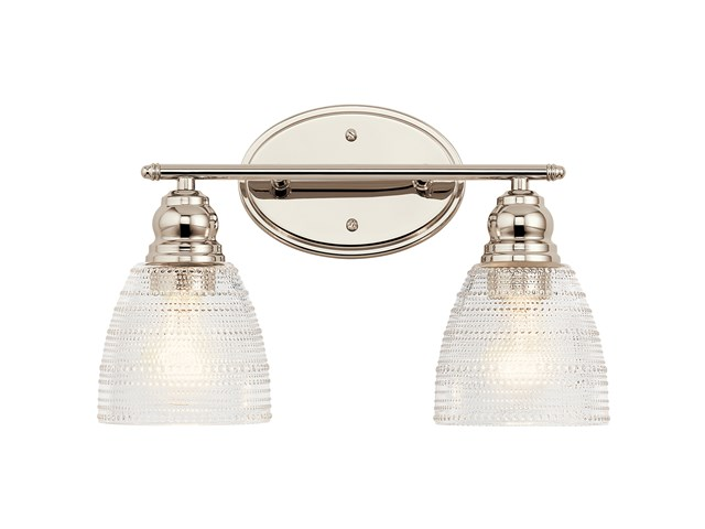 Karmarie 2 Light Vanity Light Polished Nickel™