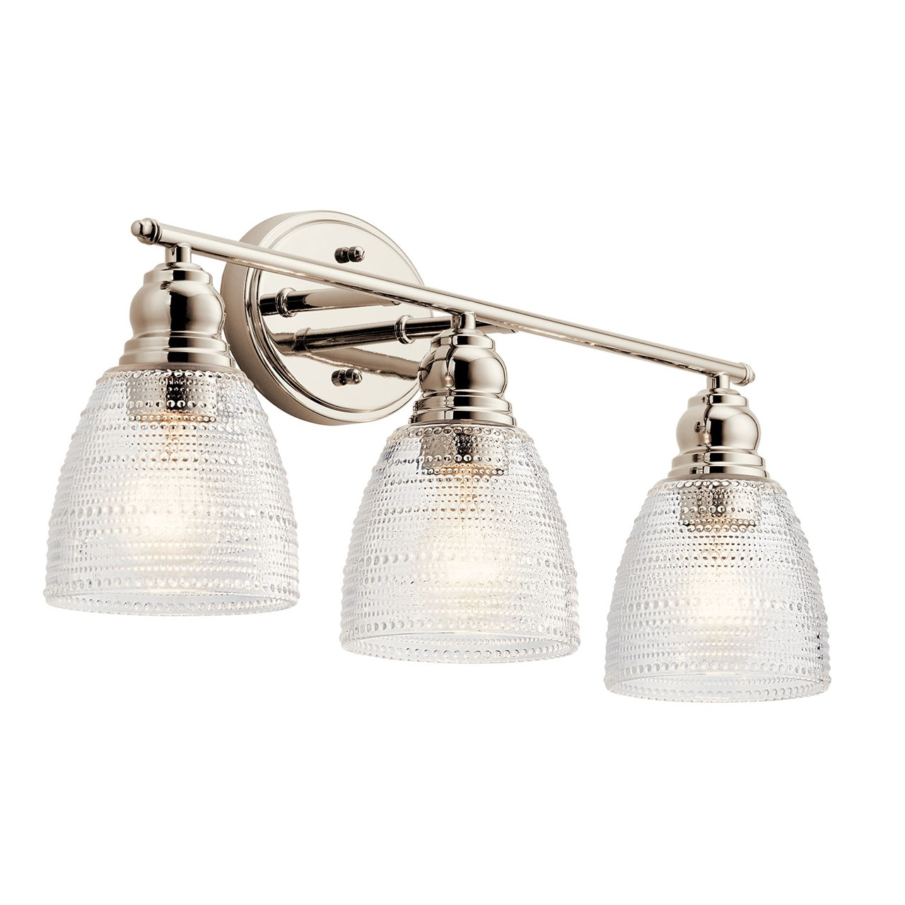 Karmarie 3 Light Vanity Light Polished Nickel™