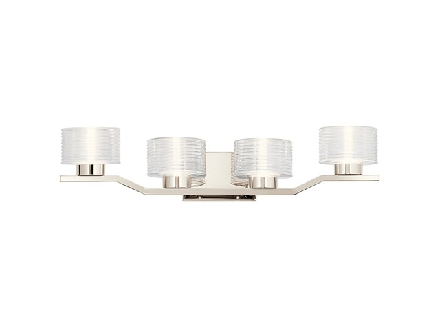 Lasus™ 4 Light LED Vanity Light Polished Nickel™
