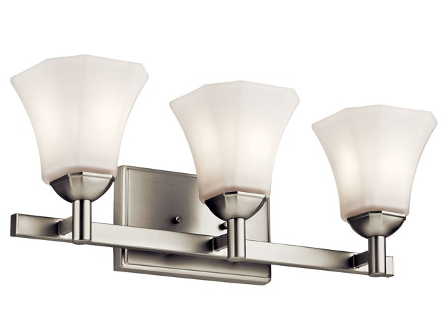 Serina 3 Light Vanity Light Brushed Nickel
