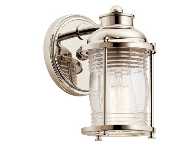 Ashland™ Bay 1 Light Vanity Light Polished Nickel™