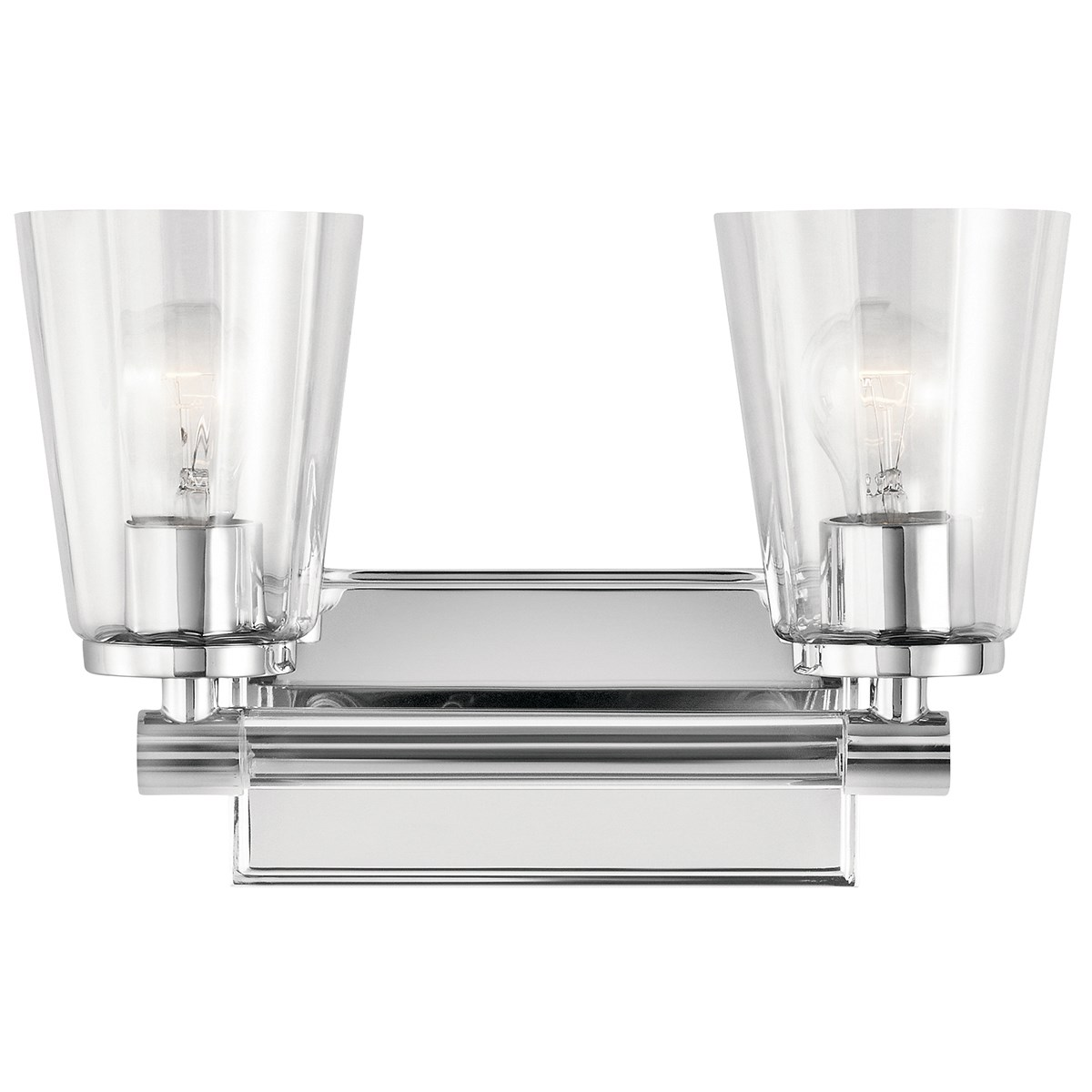 Audrea™ 2 Light Vanity Light Chrome