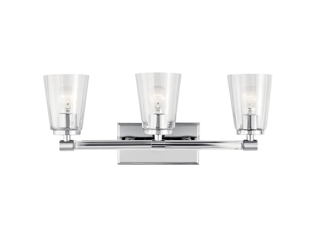 Audrea™ 3 Light Vanity Light Chrome