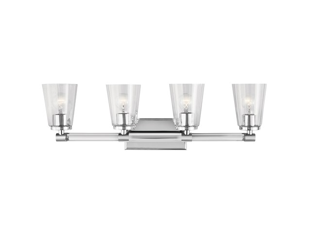 Audrea™ 4 Light Vanity Light Chrome