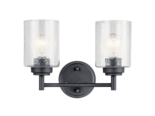 Winslow 2 Light Vanity Light Black
