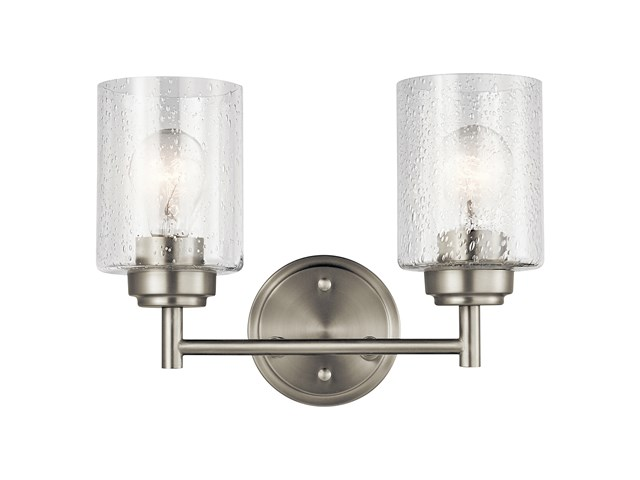 Winslow™ 2 Light Vanity Light Brushed Nickel