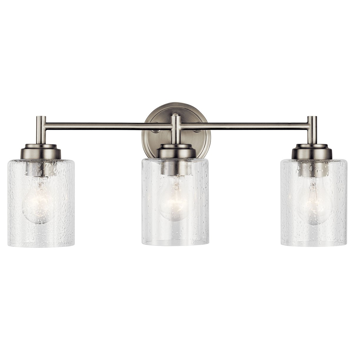 Winslow 3 Light Vanity Light Brushed Nickel Kichler Lighting