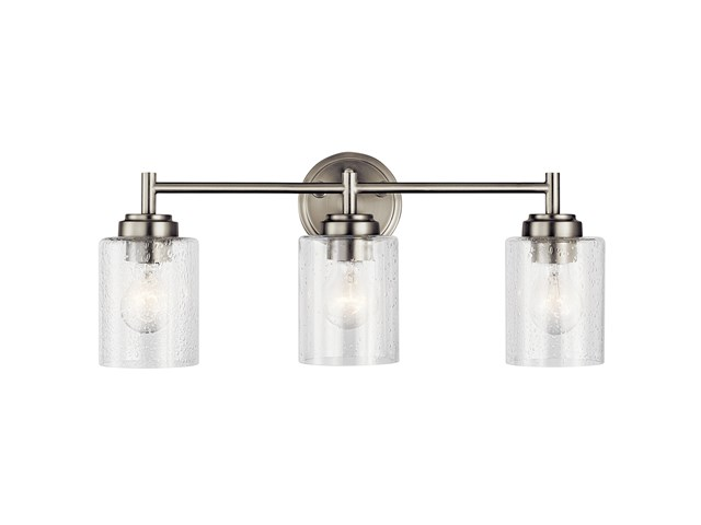 Winslow™ 3 Light Vanity Light Brushed Nickel