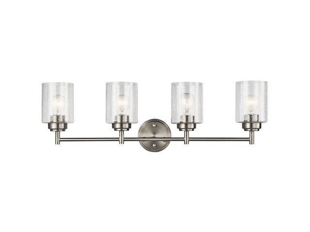Winslow™ 4 Light Vanity Light Brushed Nickel