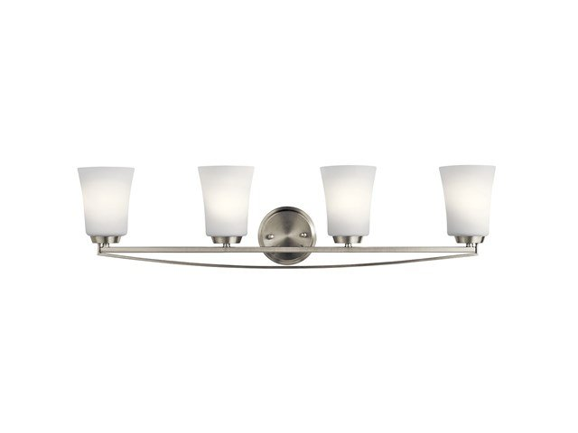 Tao 4 Light Vanity Light Brushed Nickel