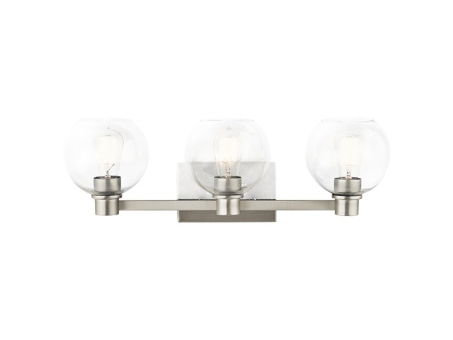 Harmony 3 Light Vanity Light Brushed Nickel
