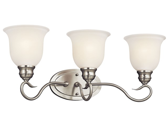 Tanglewood™ 3 Light Vanity Light Brushed Nickel