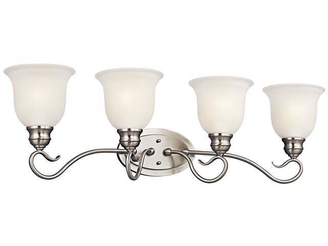 Tanglewood™ 4 Light Vanity Light Brushed Nickel