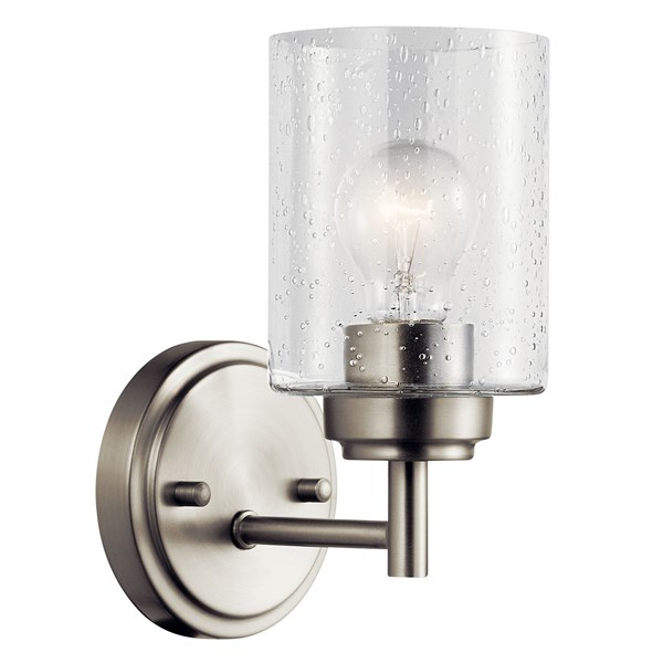 Winslow™ 1 Light Wall Sconce Brushed Nickel