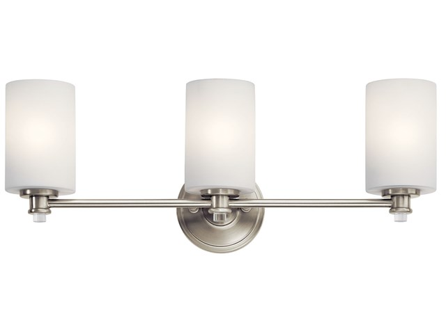 Joelson™ 3 Light Vanity Light Brushed Nickel