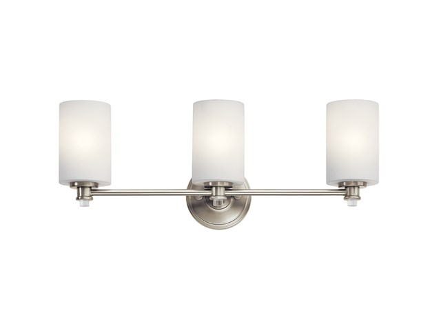 Joelson™ 3 Light Vanity Light with LED Bulb Brushed Nickel