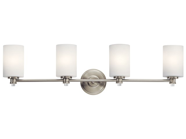 Joelson™ 4 Light Vanity Light Brushed Nickel