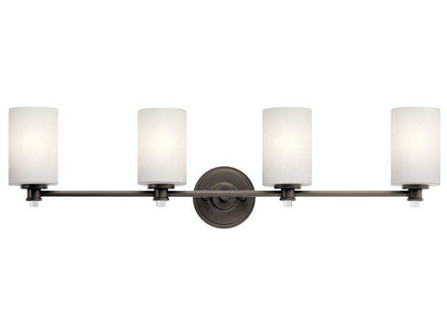 Joelson™ 4 Light Vanity Light Olde Bronze®