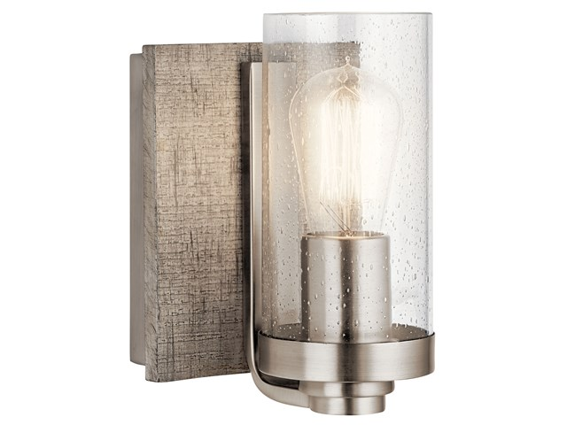 Shop Allen Roth 3 Light Hainsbrook Antique Pewter: Dalwood™ 3 Light Vanity Light Classic Pewter