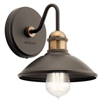 Clyde™ 1 Light Wall Sconce Olde Bronze®