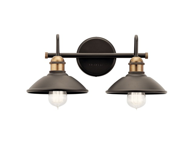 Clyde™ 2 Light Vanity Light Olde Bronze®