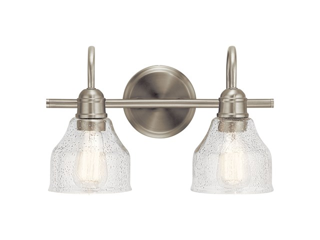 Avery™ 2 Light Vanity Light Brushed Nickel