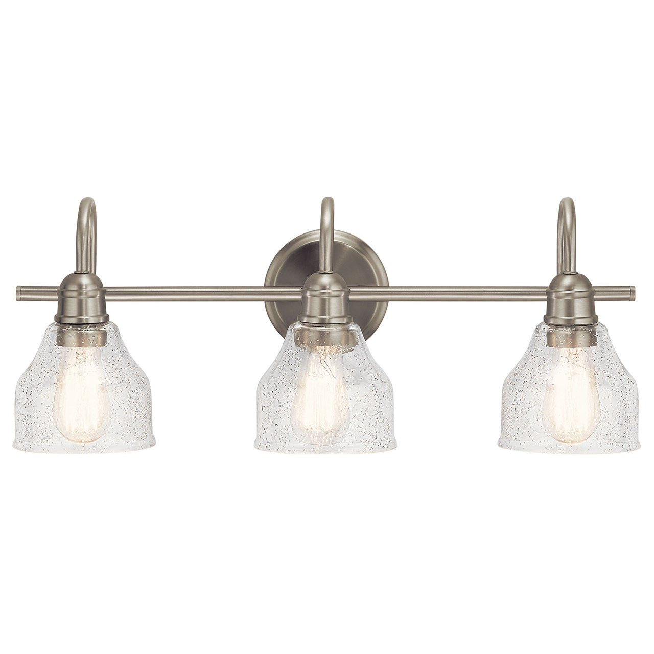 Avery 3 Light Vanity Brushed Nickel Kichler Lighting