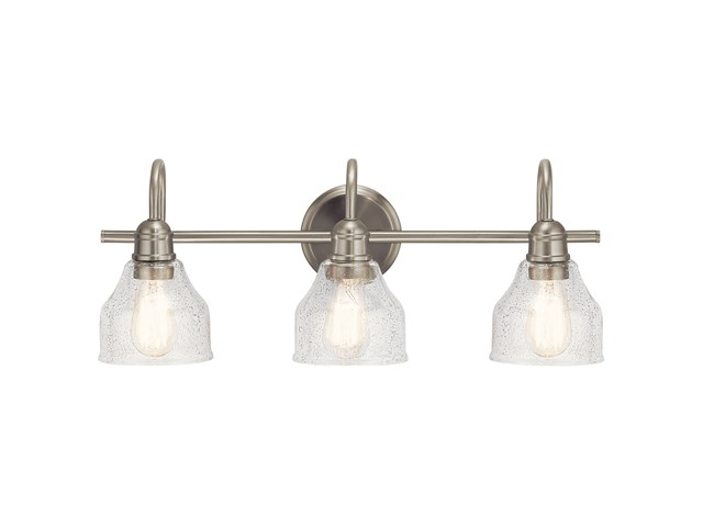 Avery™ 3 Light Vanity Light Brushed Nickel