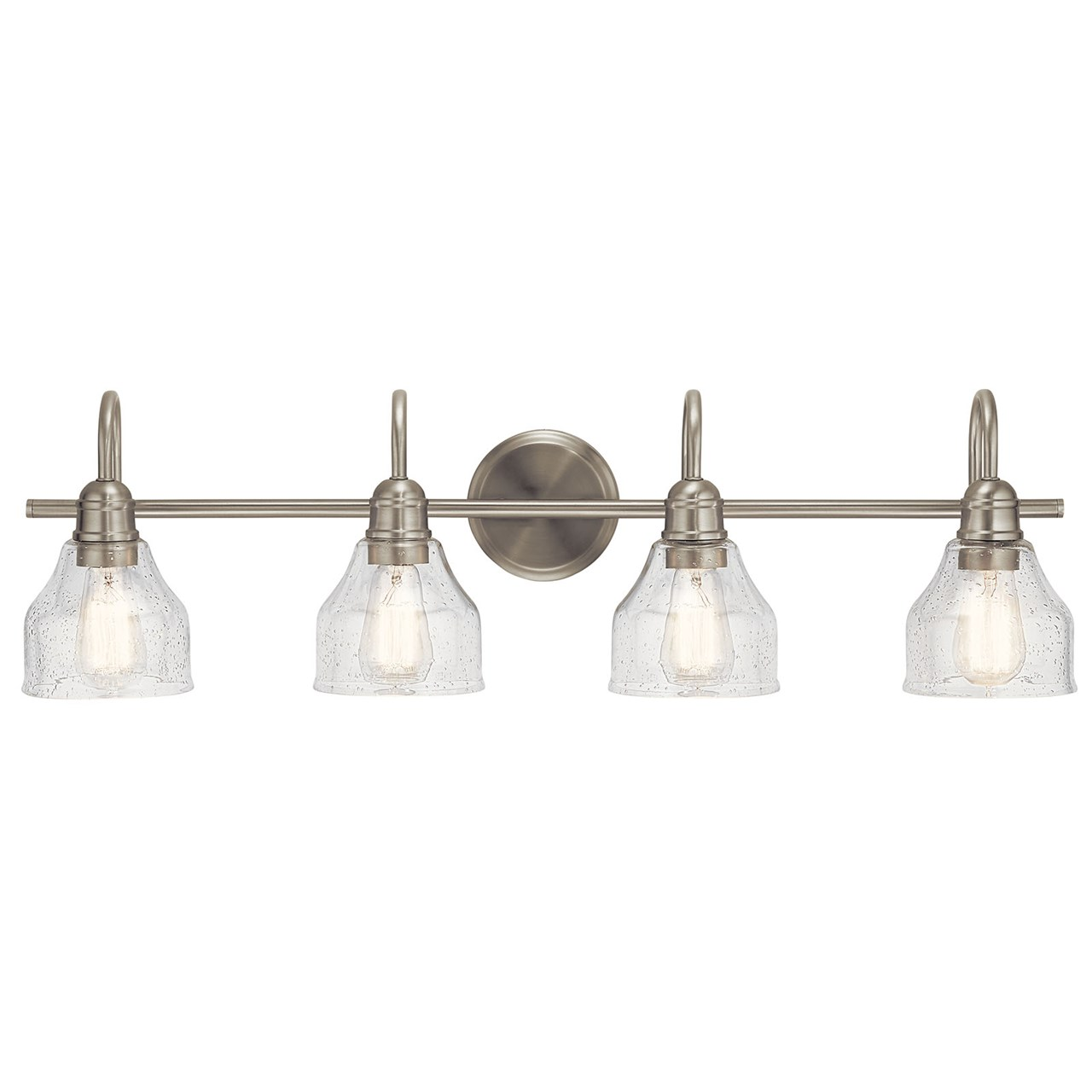 Avery™ 4 Light Vanity Light Brushed Nickel