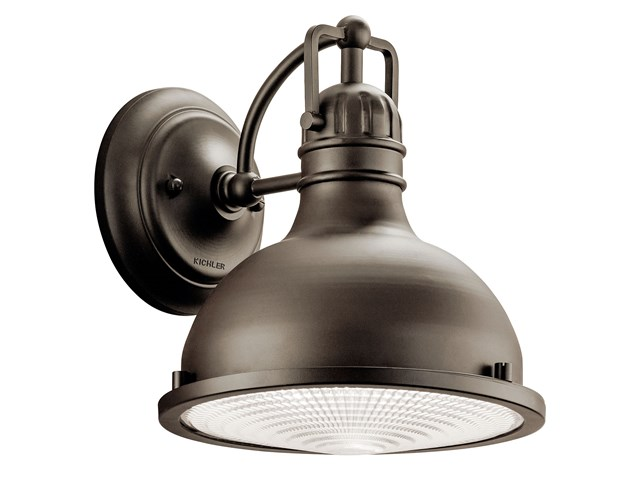 "Hatteras Bay 9.5"" 1 Light Wall Light Olde Bronze®"
