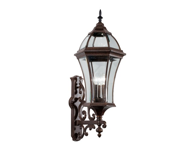 Townhouse 3 Light Wall Light Tannery Bronze™