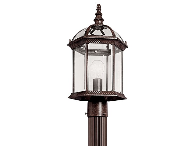 Barrie™ 1 Light Post Mount Tannery Bronze™