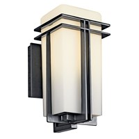 "Tremillo™ 11.75"" 1 Light Wall Light Black"