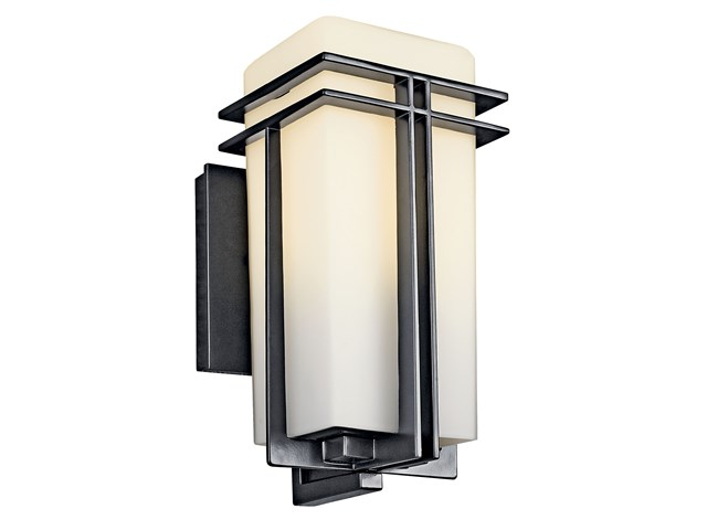 "Tremillo 11.75"" 1 Light Wall Light Black"