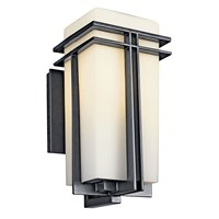 "Tremillo™ 14.25"" 1 Light Wall Light Black"
