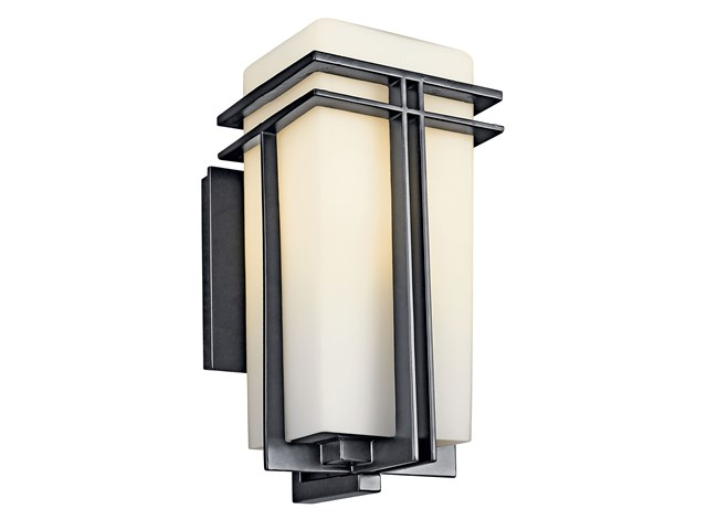 "Tremillo 14.25"" 1 Light Wall Light Black"