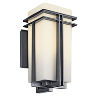 "Tremillo™ 17.25"" 1 Light Wall Light Black"