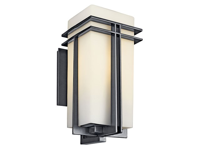 "Tremillo 20"" 1 Light Wall Light Black"