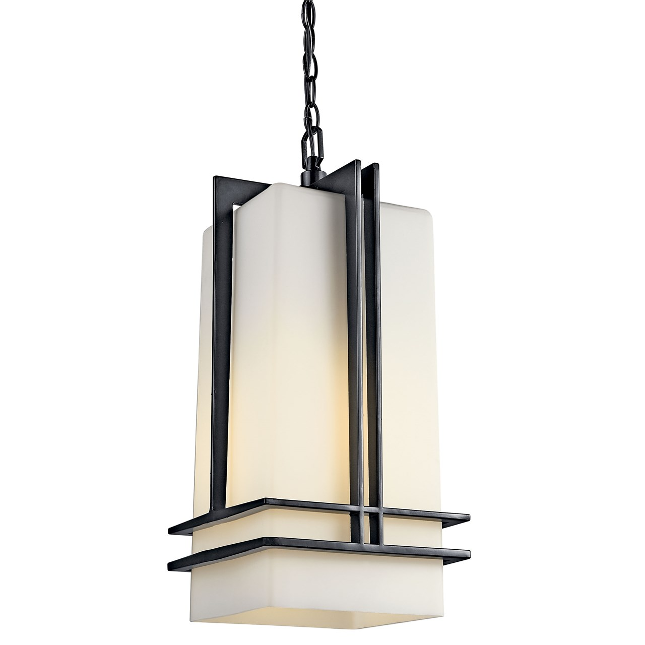 Tremillo 1 Light Pendant Black
