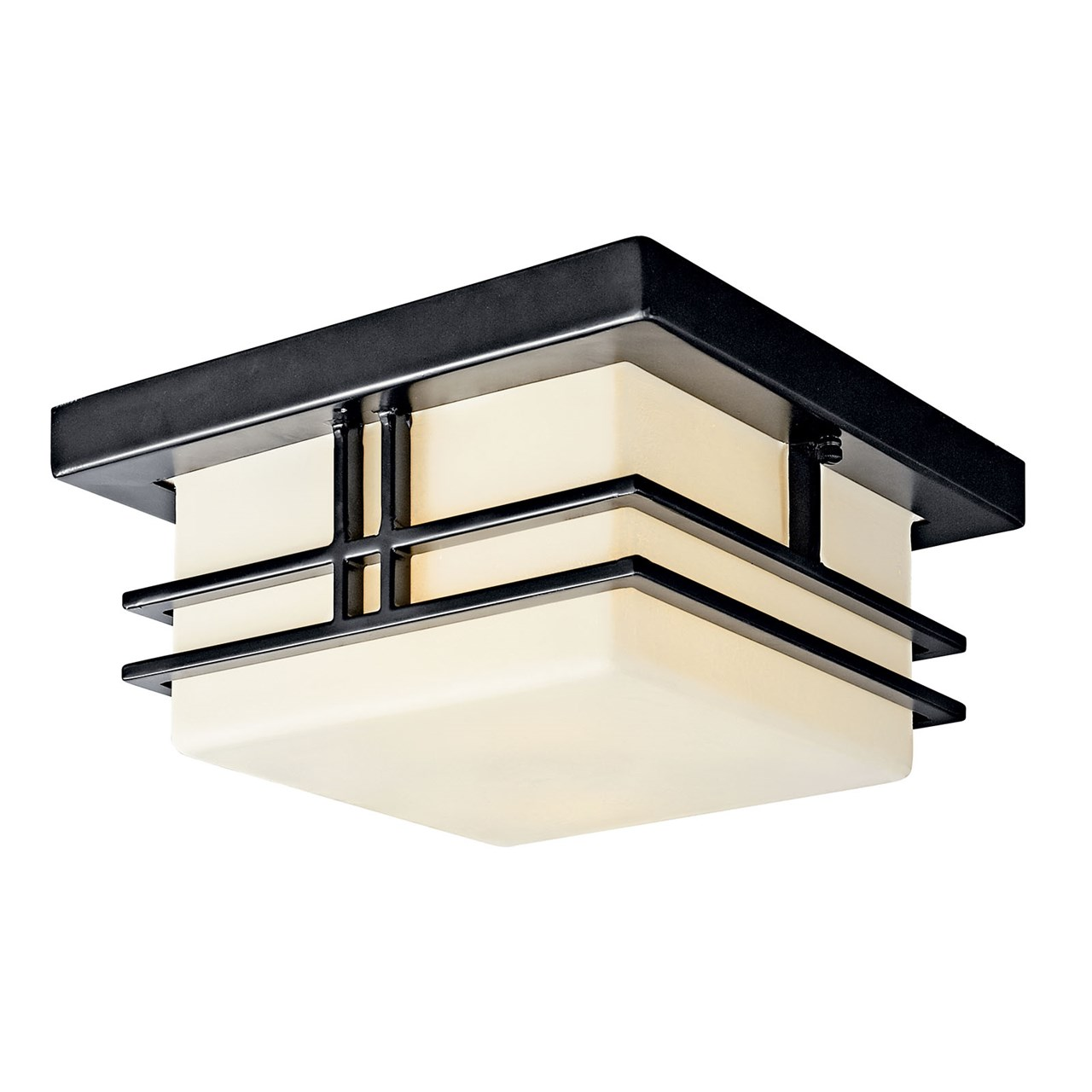 Tremillo 2 Light Flush Mount Black