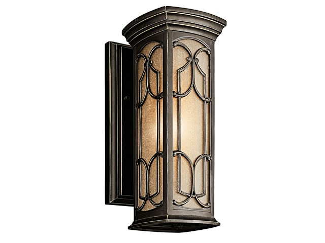 Franceasi 1 Light Wall Light Olde Bronze®
