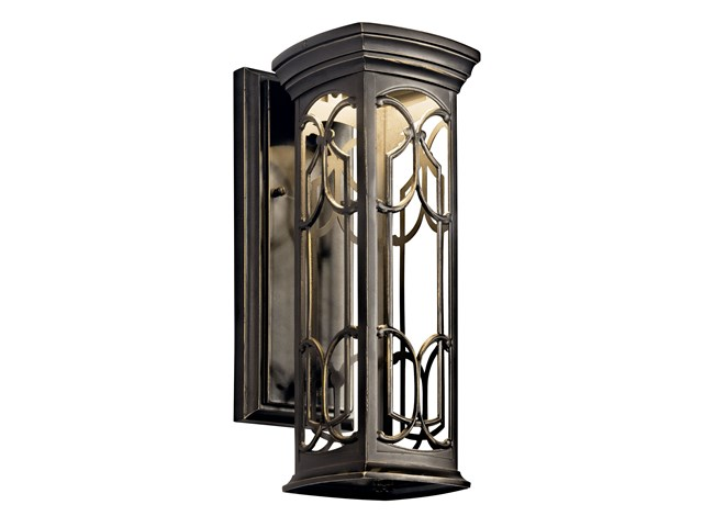 Franceasi 1 Light LED Wall Light Olde Bronze®