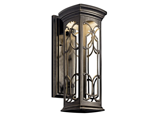 "Franceasi 18"" 1 Light LED Wall Light Olde Bronze®"