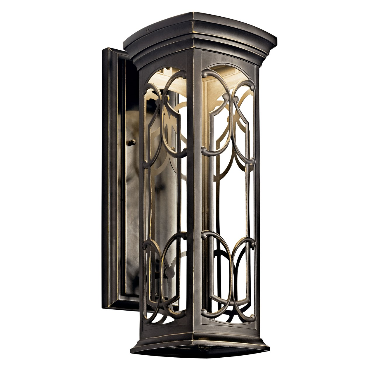 "Franceasi 18"" 1 Light Wall Light Olde Bronze®"