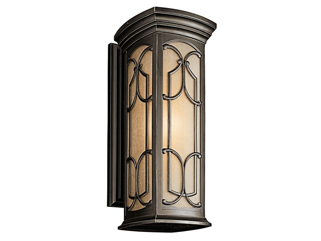 "Franceasi 22"" 1 Light Wall Light Olde Bronze®"