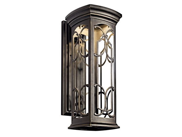 "Franceasi 22"" 1 Light LED Wall Light Olde Bronze®"