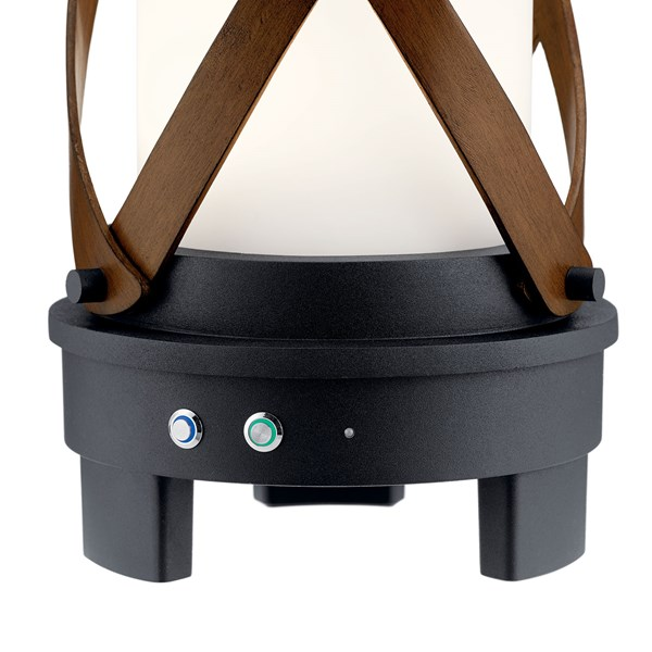 Berryhill™ Portable Bluetooth LED Lantern Textured Black