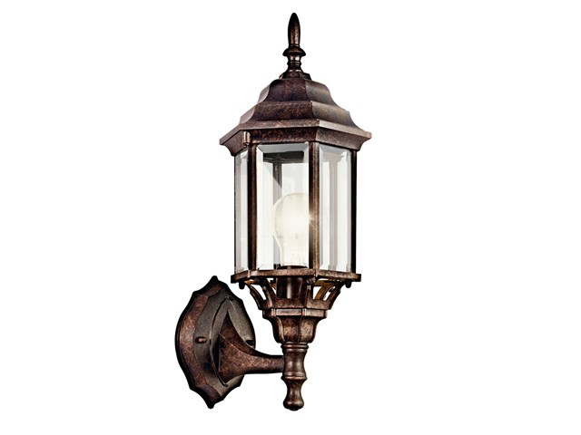 "Chesapeake 17"" 1 Light Wall Light Tannery Bronze™"